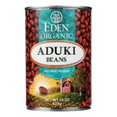 Eden Foods Organic Aduki Beans - Case of 12 - 15 oz.