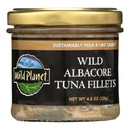 Wild Planet Wild Albacore Tuna Fillets - Case of 12 - 4.5 oz.