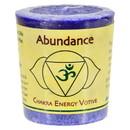 Aloha Bay - Chakra Votive Candle - Abundance - Case of 12 - 2 oz