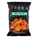 Terra Chips Sweet Potato Chips - Sweet Potato No Salt Added - Case of 12 - 6 oz.
