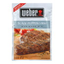 Weber Grill Creations Marinade - Black Peppercorn - Case of 12 - 1.12