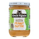 Once Again Peanut Butter - Organic - Creamy - 16 oz - case of 12