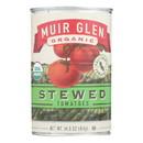 Muir Glen Stewed Tomato - Tomato - Case of 12 - 14.5 oz.