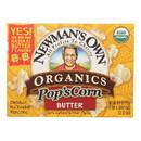 Newman's Own Organics Microwave Popcorn - Butter Boom - 3.3 oz.
