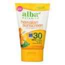Alba Botanica - Hawaiian Aloe Vera Natural Sunblock SPF 30 - 4 fl oz