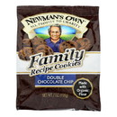 Newman's Own Organics Double Chocolate Chip Cookies - Organic - Case of 6 - 7 oz.