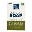 Kiss My Face Bar Soap Olive and Aloe - 8 oz