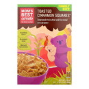 Mom's Best Naturals Toasted Cinnamon Squares - Case of 14 - 17.5 oz.