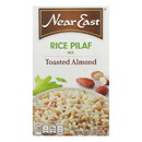 Near East Rice Pilaf Mix - Toasted Almond - Case of 12 - 6.6 oz.