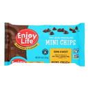 Enjoy Life - Baking Chocolate - Mini Chips - Semi-Sweet - Gluten Free - 10 oz - case of 12
