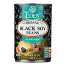 Eden Foods Organic Black Soy Beans - Case of 12 - 15 oz.