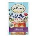 Twinings Tea Cold Brew Tea - Mixed Berry - Case of 6 - 20 bag