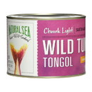 Natural Sea Tuna - Tongol - Chunk Light - No Salt Added - 66.5 oz - case of 6