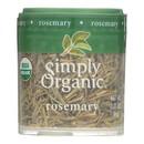 Simply Organic Rosemary Leaf- Organic - Whole - .21 oz - Case of 6