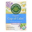 Traditional Medicinals Organic Easy Now Herbal Tea - 16 Tea bags - Case of 6