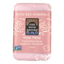 One With Nature Dead Sea Mineral Rose Petal Soap - 7 oz