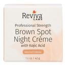 Reviva Labs - Brown Spot Night Cream with Kojic Acid - 1 oz