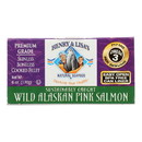 Henry and Lisa's Natural Seafood Wild Alaskan Pink Salmon - Case of 12 - 6 oz.