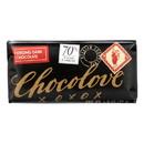 Chocolove Xoxox - Premium Chocolate Bar - Dark Chocolate - Strong - Mini - 1.3 oz Bars - Case of 12