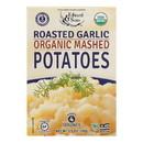Edward and Sons Organic Mashed Potatoes - Roasted Garlic - Case of 6 - 3.5 oz.