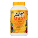Nature's Way - Alive Max3 Daily Multi-Vitamin - Max Potency - No Iron Added - 180 Tablets