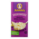 Annies Homegrown Macaroni and Cheese - Shells and White Cheddar - 6 oz - case of 12