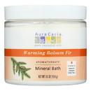 Aura Cacia - Aromatherapy Mineral Bath Warming Balsam Fir - 16 oz
