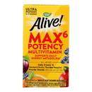 Nature's Way - Alive Max6 Daily Multi-Vitamin - Max Potency - 90 Veg Capsules