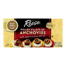 Reese Anchovies - Rolled - Case of 10 - 2 oz