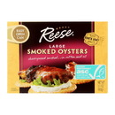 Reese Oysters - Smoked - Large - 3.7 oz - Case of 10