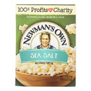 Newman's Own Natural Flavor Microwave - Popcorn - Case of 12 - 10.5 oz.
