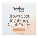 Reviva Labs - Brown Spot Night Cream Skin Lightening - 1 oz