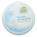 Citrus Magic Solid Air Freshener - Pure Linen - Case of 6 - 8 oz