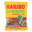 Haribo Rattle - Snakes - Lemon - Case of 12 - 5 oz.