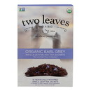 Two Leaves and A Bud Black Tea - Organic Earl Grey - Case of 6 - 15 bags