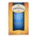 Twining's Tea Black Tea - Lady Grey - Case of 6 - 20 bags