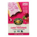 Nature's Path Organic Frosted Toaster Pastries - Cherry Pomegranate - Case of 12 - 11 oz.