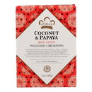 Nubian Heritage Bar Soap Coconut And Papaya with Vanilla Beans - 5 oz