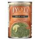 Jyoti Cuisine India Delhi Saag - Case of 12 - 15 oz.