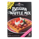Classique Fare Belgian Waffle Mix - Case of 6 - 16 oz.