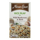 Near East Rice Pilaf Mix - Mushrooms and Herbs - Case of 12 - 6.3 oz.