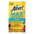 Nature's Way - Alive Max3 Men's Multi-Vitamin - Max Potency - 90 Tablets