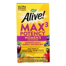 Nature's Way - Alive Max3 Women's Multi-Vitamin - Max Potency - 90 Tablets