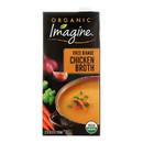 Imagine Foods Chicken Broth - Free Range - Case of 12 - 32 Fl oz.