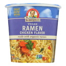Dr. McDougall's Vegan Ramen Soup Big Cup with Noodles - Chicken - Case of 6 - 1.8 oz.