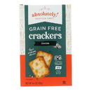 Absolutely Gluten Free - Crackers - Toasted Onion - Case of 12 - 4.4 oz.