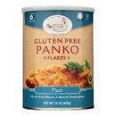 Jeff Nathan Creations Bread Crumbs - Panko Flakes - Plain - Gluten Free - 15 oz - case of 12