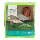 Seventh Generation Free and Clear Overnight Diapers - Stage 4 - Case of 4 - 24 Count