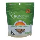 Fruitables Healthy Dog Treats - Pumpkin & Apple Flavor - Case of 8 - 7 oz