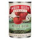 Muir Glen Diced Tomatoes - Tomato - Case of 12 - 14.5 oz.